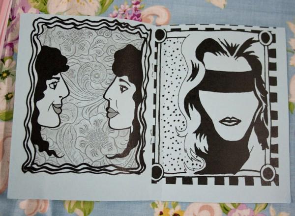 Faces zine by Daisy Noemi