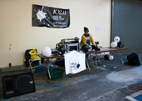 KXLU 90.7 in the building